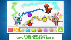 paw patrol draw u0026 play android apps google play