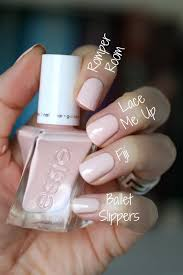essie gel couture ballet swatches review u0026 comparisons