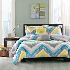 Blue Yellow And Grey Bedroom Ideas Amazon Com Intelligent Design Elise 5 Piece Comforter Set Blue