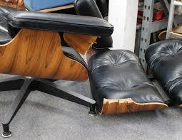 eames lounge broken due to shock mount failure herman miller