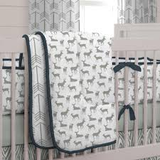 Canadian Crib Bedding Woodland Crib Bedding Model Home Inspirations Design Decorate