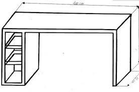 dessin de bureau dessiner des meubles en perspective ob 399832 scan bureau manon