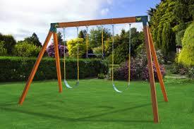 a frame swing set
