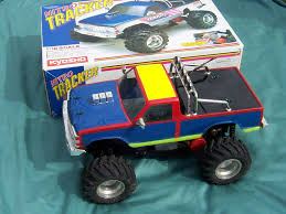 nitro monster trucks vintage kyosho nitro tracker r c car monster truck rare ebay