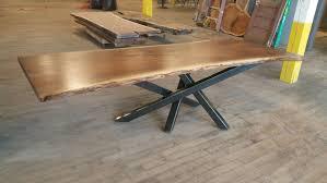 Rustic Bedroom Set With Cross Live Edge Wood Furniture Custommade Com