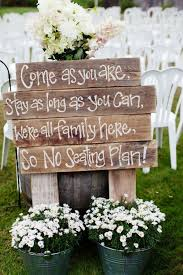 natural outdoor wedding decoration ideas for your memorable
