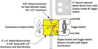 combo switch outlet wiring diagram kwikpik me