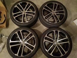 volkswagen gti wheels fs perfect 2017 gti sport 18 inch nogaro wheels hancock 225 40