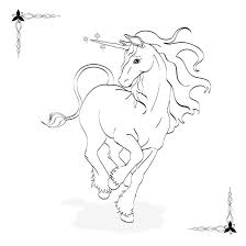 coloring book unicorn by drelion on deviantart