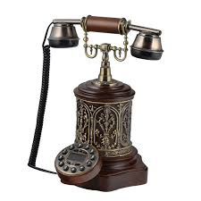antique telephone set home interior decoration design wholesale