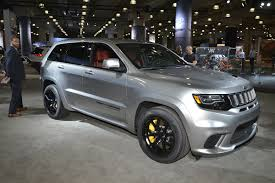 jeep gray extreme machine jeep grand cherokee trackhawk the most powerful