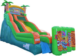 party rental island tiki island water slide party rentals