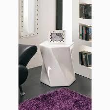 bout de canape design bout de canapé en bois blanc