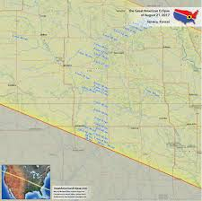 Kansas Time Zone Map by Kansas Eclipse U2014 Total Solar Eclipse Of Aug 21 2017