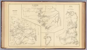Nh Map Derry Seabrook Rye David Rumsey Historical Map Collection