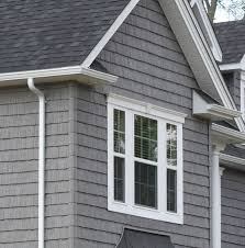 gray siding white trim black shingles qp pinterest grey