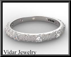 wedding band for women diamond white gold wedding band women vidar jewelry unique