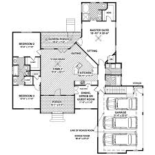 ranch home layouts bogart shingle style ranch home plan 013d 0156 house plans and more