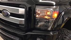 2016 f350 tail lights 2016 ford f 350 superduty recon 264293bk tail lights and 264116bkhp