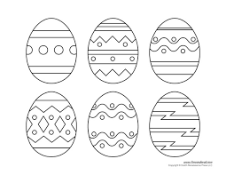 coloring easter egg color easter eggs coloring pages