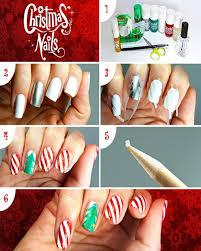 christmas santa face easy nail art step by step tutorial zestymag