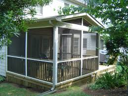 white screen porch enclosure ideas system installing screen