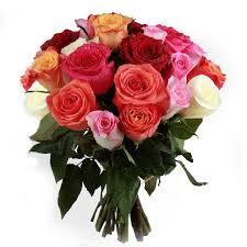 White Roses In A Vase Fleurs La Sagesse