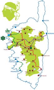 Corsica Map Le Gr 20 En 5 Jours étape 1 Le Préparation U2013 U Run Gr 20