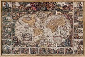 Antique World Map Wallpaper Close Window Ceiling Ideas