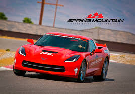 fellows corvette driving at mountain motor