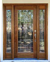 Front Exterior Door Exterior Doors With Sidelights Solid Mahogany Entry Doors