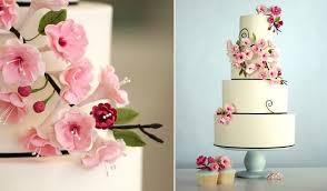 wedding cake gum cherry blossom wedding cakes cake magazine