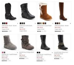 womens boots at kohls kohl s s boots only 12 79 s only 16 99