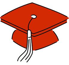 red graduation cap clipart kid 3 cliparting com