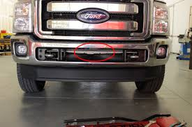 aftermarket lights for trucks how to install aftermarket lights in the center bumper mount on a