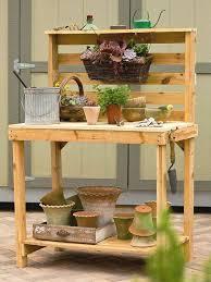 Home Decor Made From Pallets Best 25 Pallet Potting Bench Ideas On Pinterest Potting Station