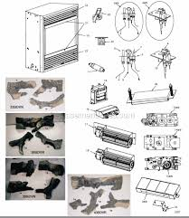 Majestic Vent Free Fireplace by Majestic 36bdvr Parts List And Diagram Ereplacementparts Com
