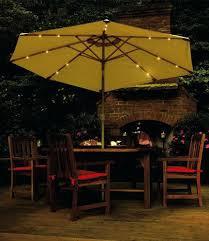 patio umbrella with solar led lights beautiful patio umbrella with led lights for incredible patio