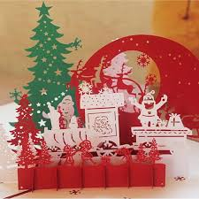 christmas cards sale hot sale 3d christmas cards greeting handmade paper cards