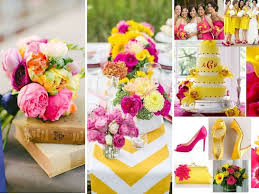 pink matches with what color what color matches fuchsia for wedding everafterguide