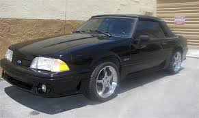 1990 mustang gt convertible value black 1990 ford mustang gt convertible mustangattitude com photo
