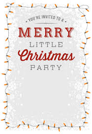 christmas party invitation template party invitation template best 25 free christmas christmas