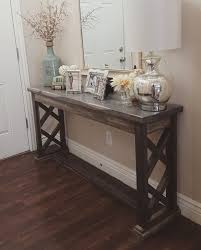 best 25 farmhouse sofa table ideas on pinterest farmhouse