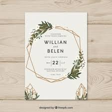 wedding invitations free wedding invitation vectors photos and psd files free