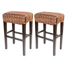 furniture dark wicker bar stools target with dark wood legs for