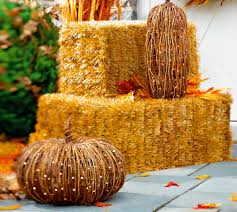 Halloween Decorations Grandin Road Inspired Awfulness 89 Faux Hay L A At Home Los Angeles Times