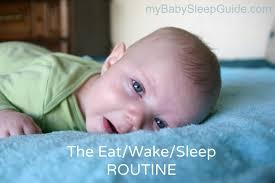 eat wake sleep routine ews or easy my baby sleep guide your