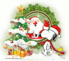 merry animated snow snoopy merry happy