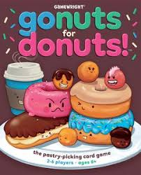 go nuts for donuts board boardgamegeek