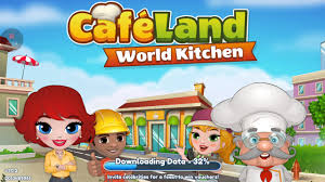 cafe land world kitchen review youtube